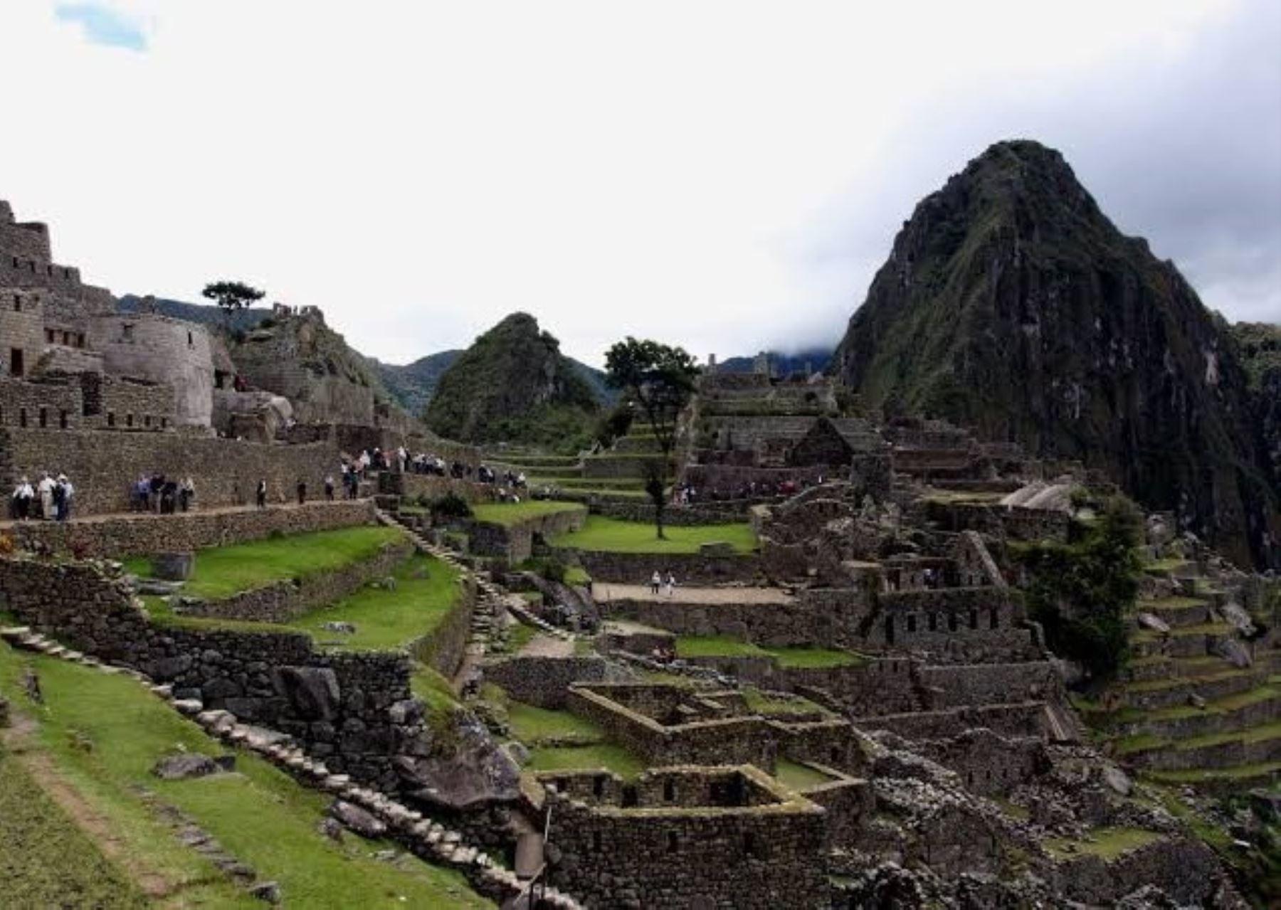 Las autoridades cusqueñas se preparan para recibir a los turistas cuando se reanuden las actividades y se reabra la ciudadela de Machu Picchu, el ícono turístico de Perú. ANDINA/Percy Hurtado