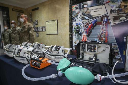 Coronavirus: Alemania donó ventiladores mecánicos a la Marina de Guerra del Perú