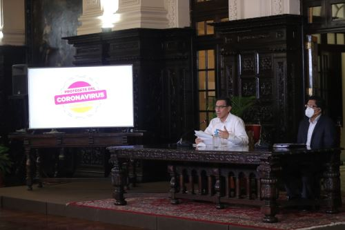 Presidente Vizcarra informa las acciones del Estado de Emergencia