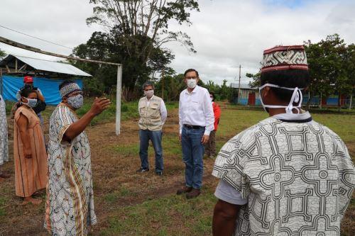 Presidente Vizcarra visita la Comunidad Nativa El Pilar en Madre de Dios