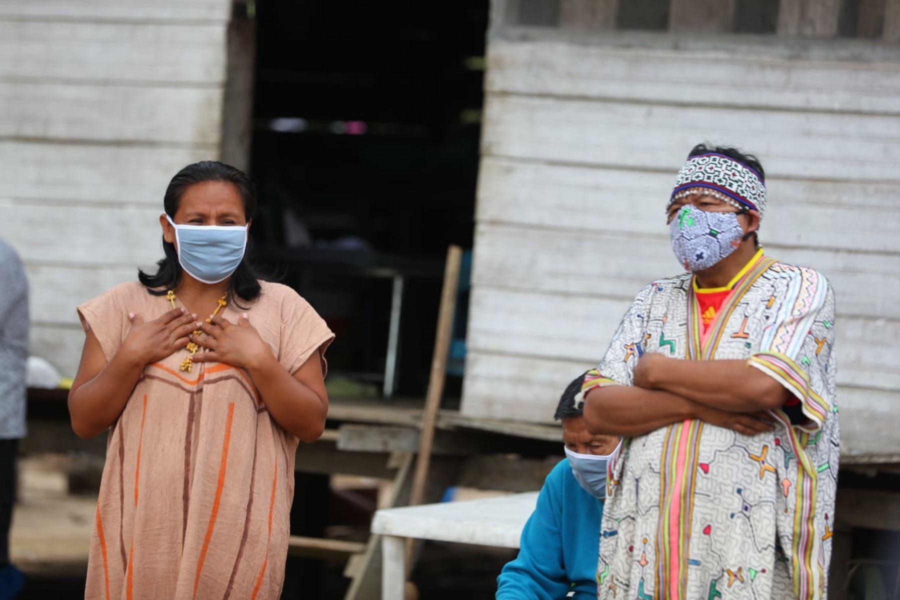 Presidente Vizcarra visita la Comunidad Nativa El Pilar en Madre de Dios. Foto: ANDINA/ Prensa Presidencia