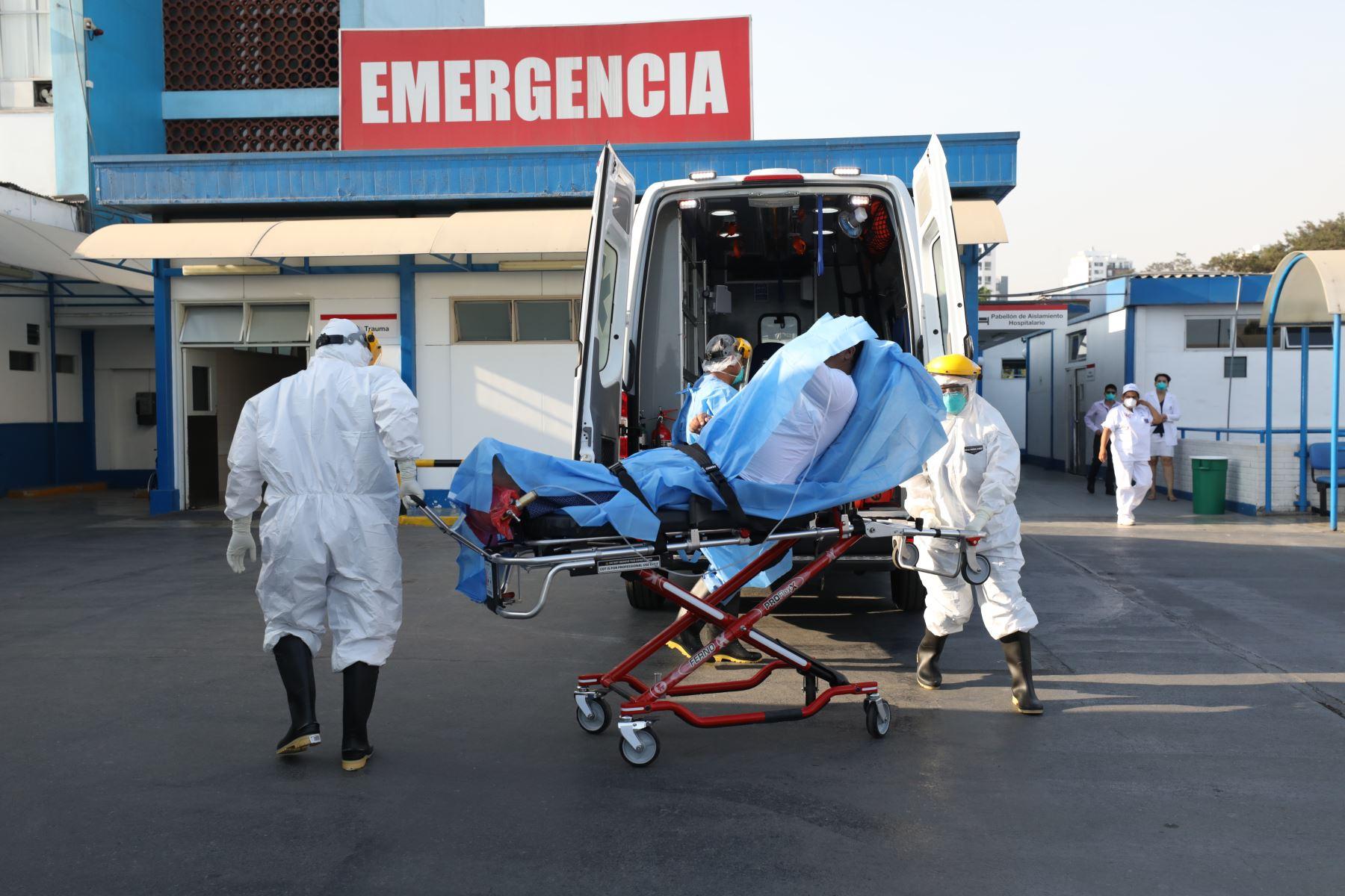 Lima sigue siendo la región con el mayor número de infectados por Covid-19 a la fecha con 110,161 casos. ANDINA/Difusión