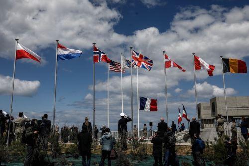 """Francia conmemora 76 años del """"Día D"""", el desembarco de Normandía"""