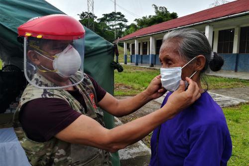 Coronavirus: Comando Conjunto llevó atenciones del Estado contra el covid-19 en localidad de Santa Clotilde en Loreto