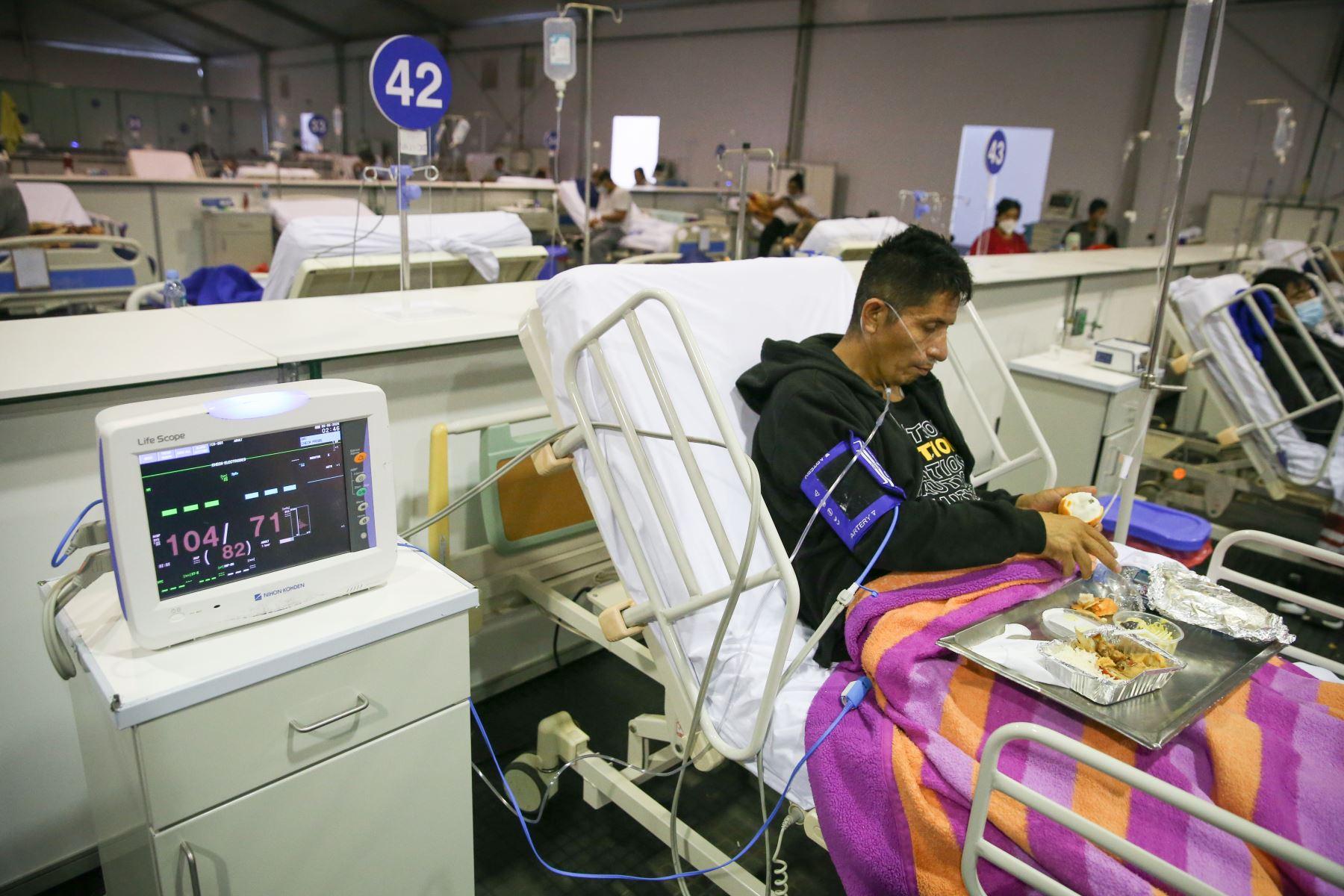 Minsa: se reduce número de pacientes hospitalizados por coronavirus | Noticias