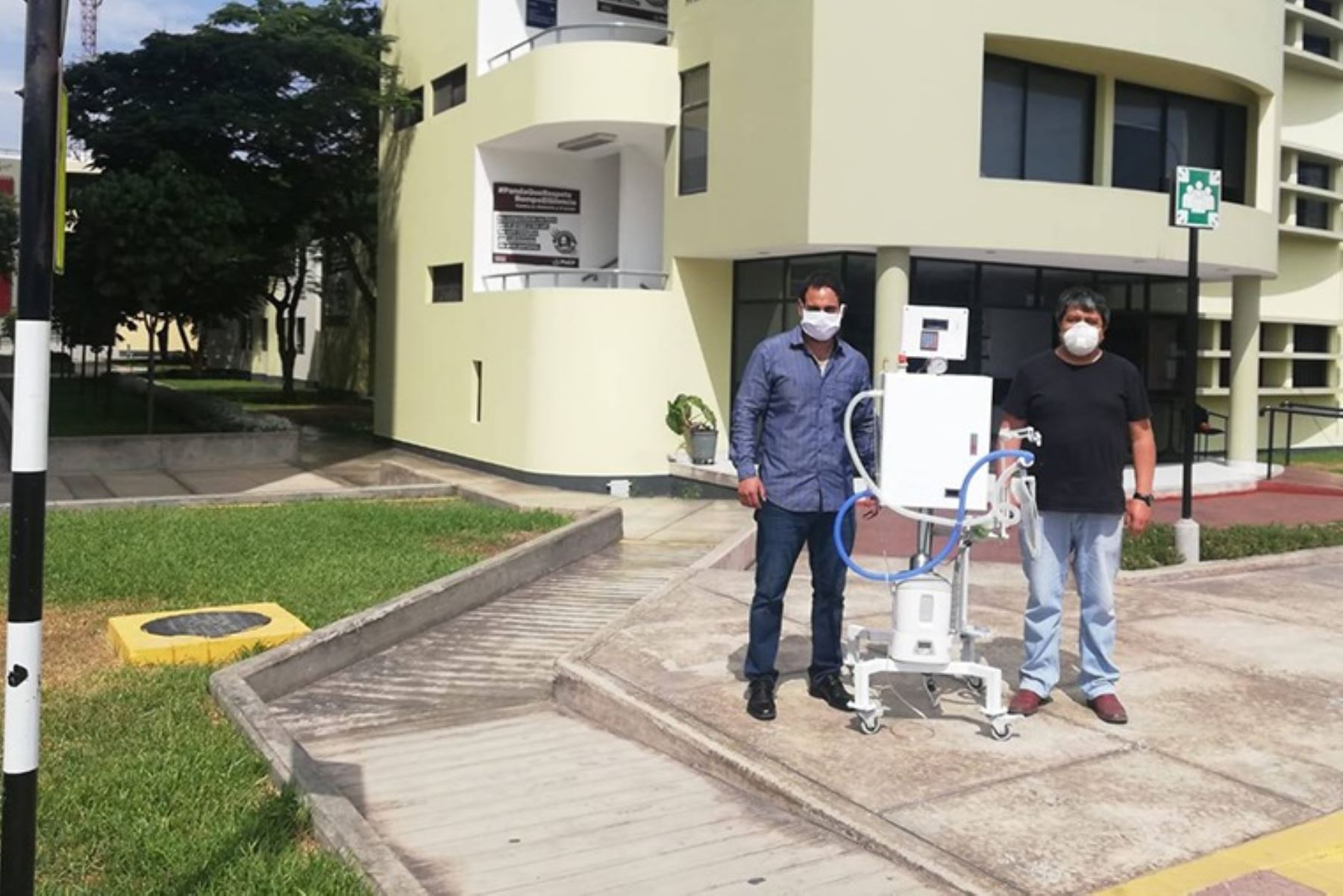 Ventilador mecánico múltilple para pacientes Covid-19