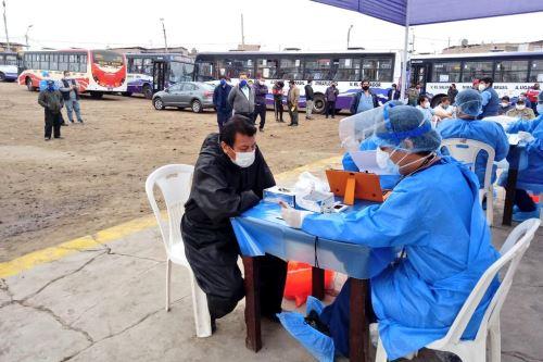 Un total de 14 provincias han salido del nivel de riesgo sanitario extremo por covid-19. Foto: ANDINA/Difusión