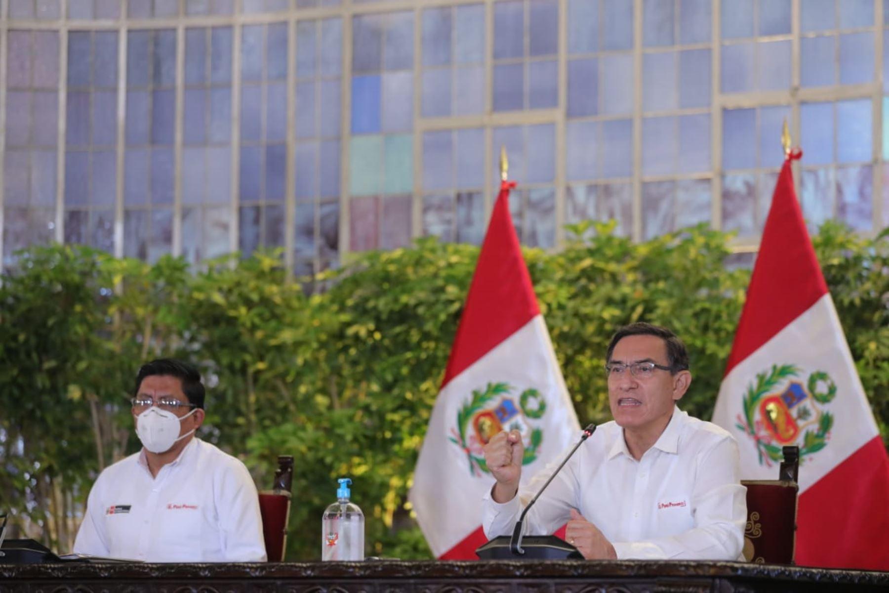 Foto:ANDINA/Prensa Presidencia