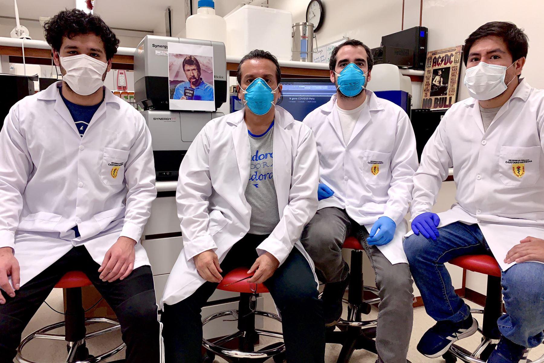 El equipo de investigación. Foto: Twitter/@EdMalagaTrillo
