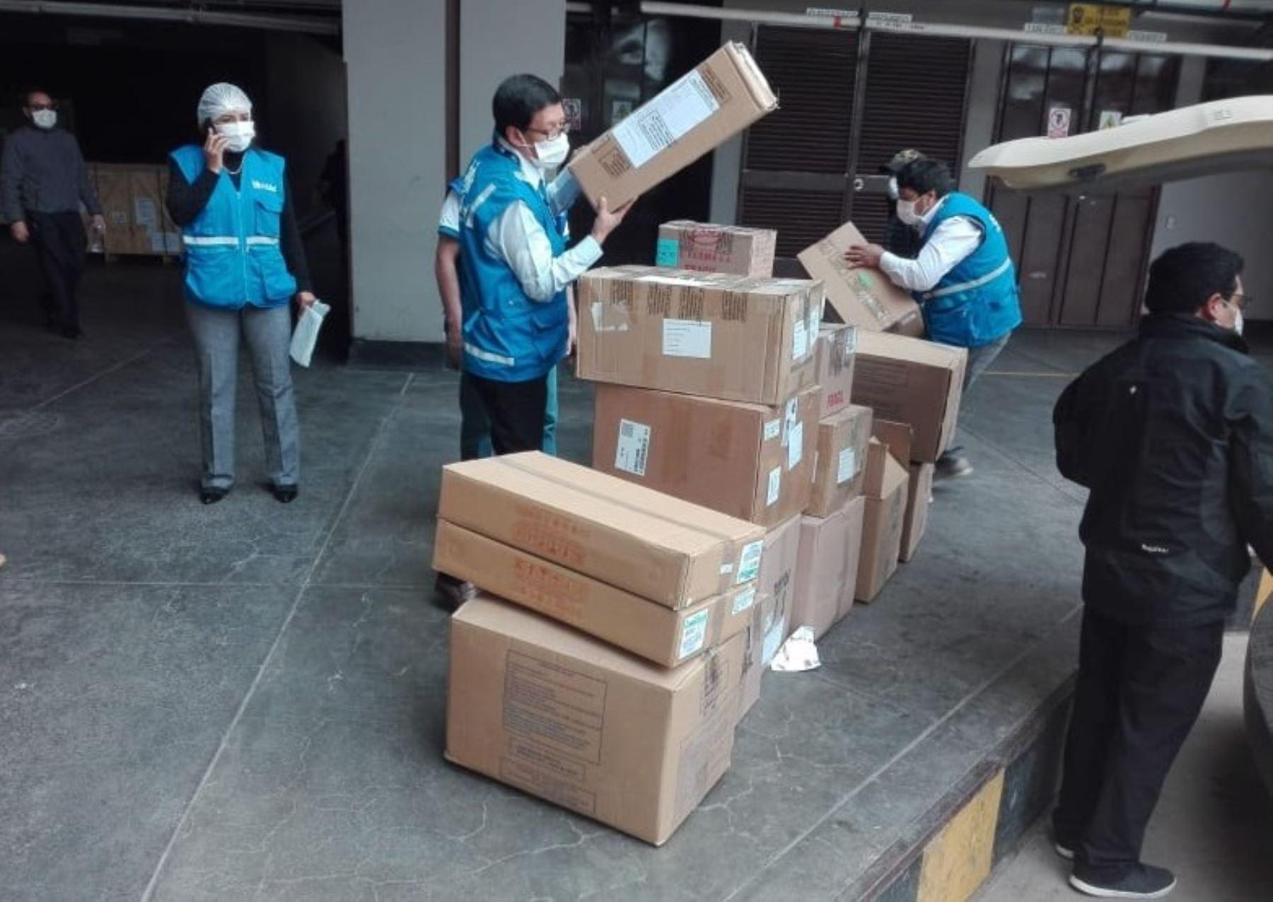 Hospital y establecimientos de atención de EsSalud en Cusco recibieron pruebas rápidas, camillas, termómetros electrónicos y medicamentos para luchar contra el coronavirus. ANDINA/Difusión