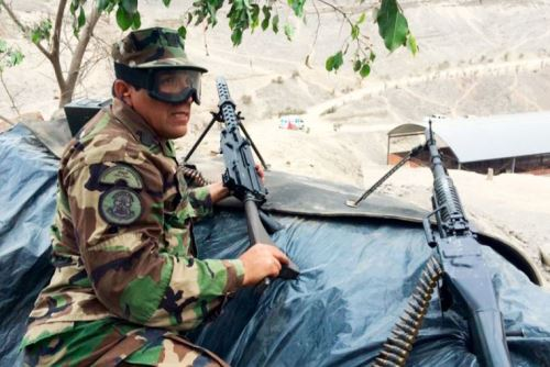 El suboficial de la Policía Nacional de Perú (PNP), Nelson Pineda.