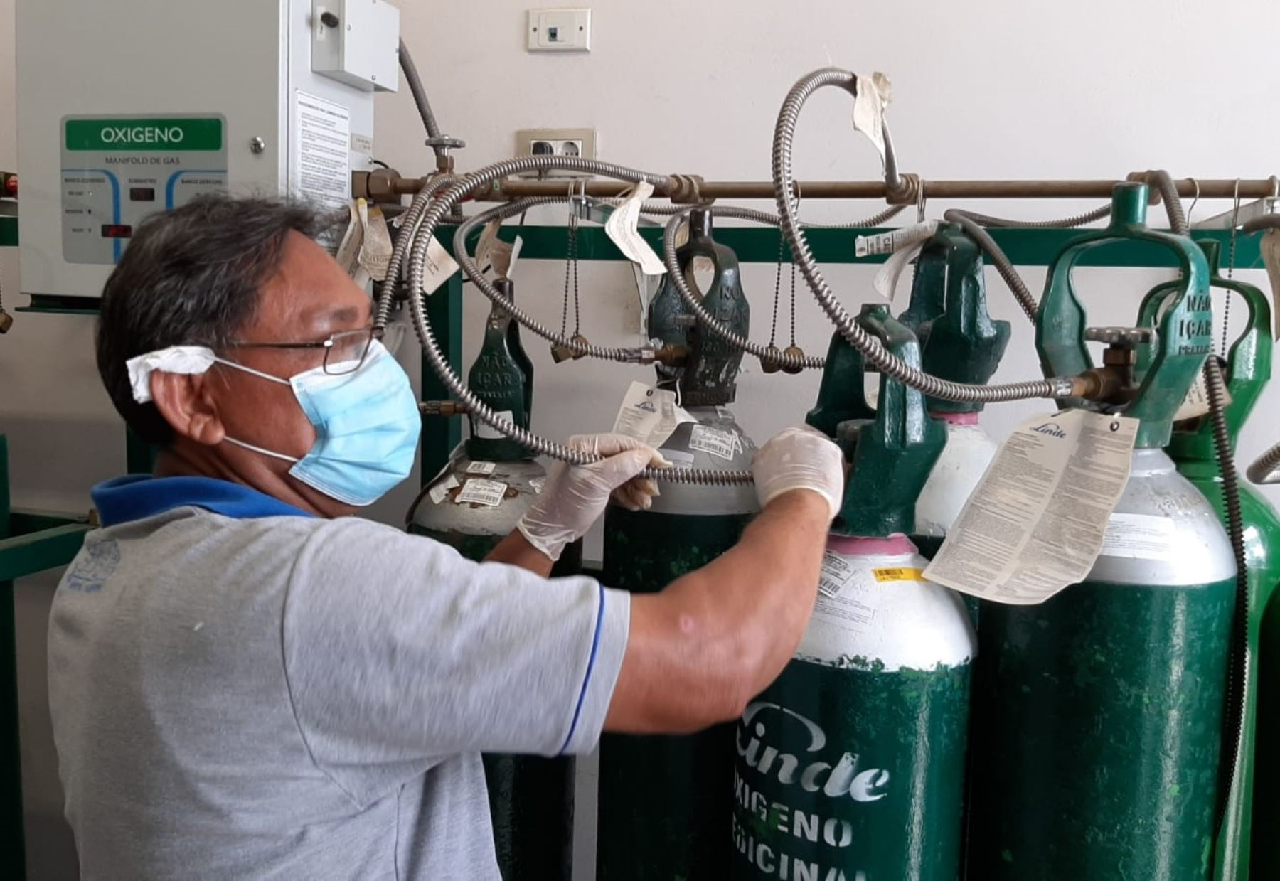El Gobierno Regional de San Martín pone en funcionamiento planta de oxígeno para atender la creciente demanda en la ciudad de Tarapoto.
