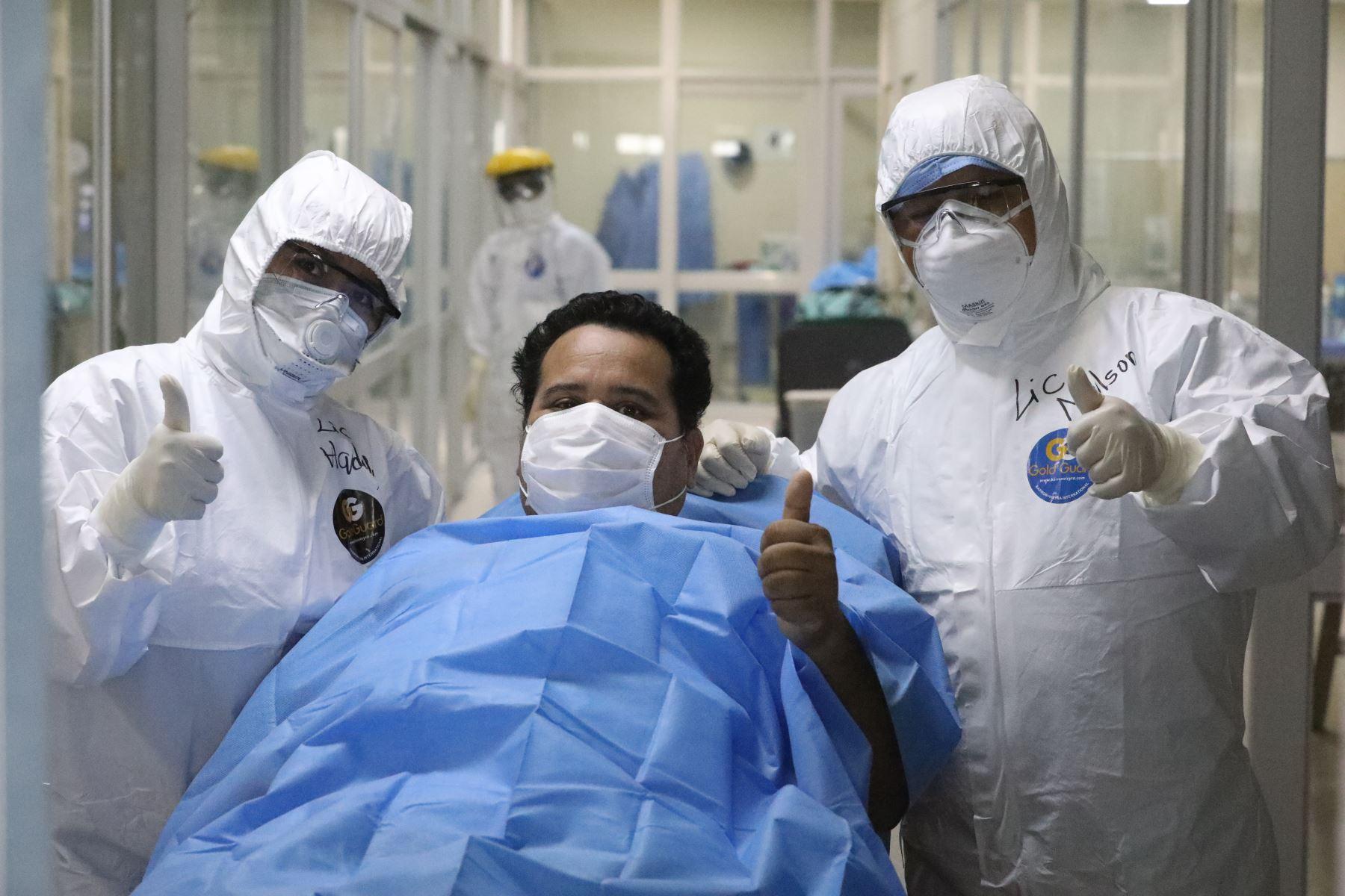 Al cumplirse cien días del estado de emergencia, el Seguro Social de Salud (EsSalud) brindó alcances de su lucha contra el covid-19. Foto: EsSalud.