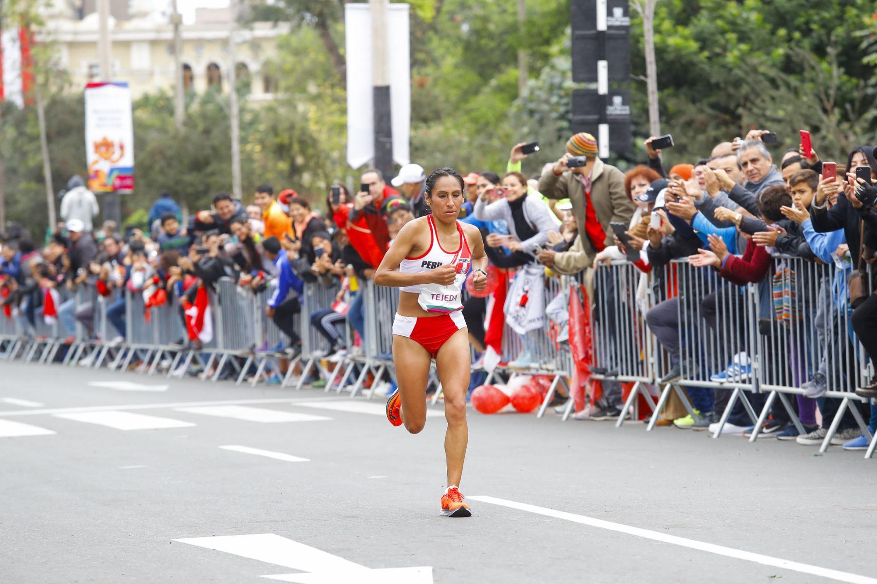 Gladys Tejeda va con todo en busca de ganar la medalla en los Juegos Olímpicos Tokio 2020