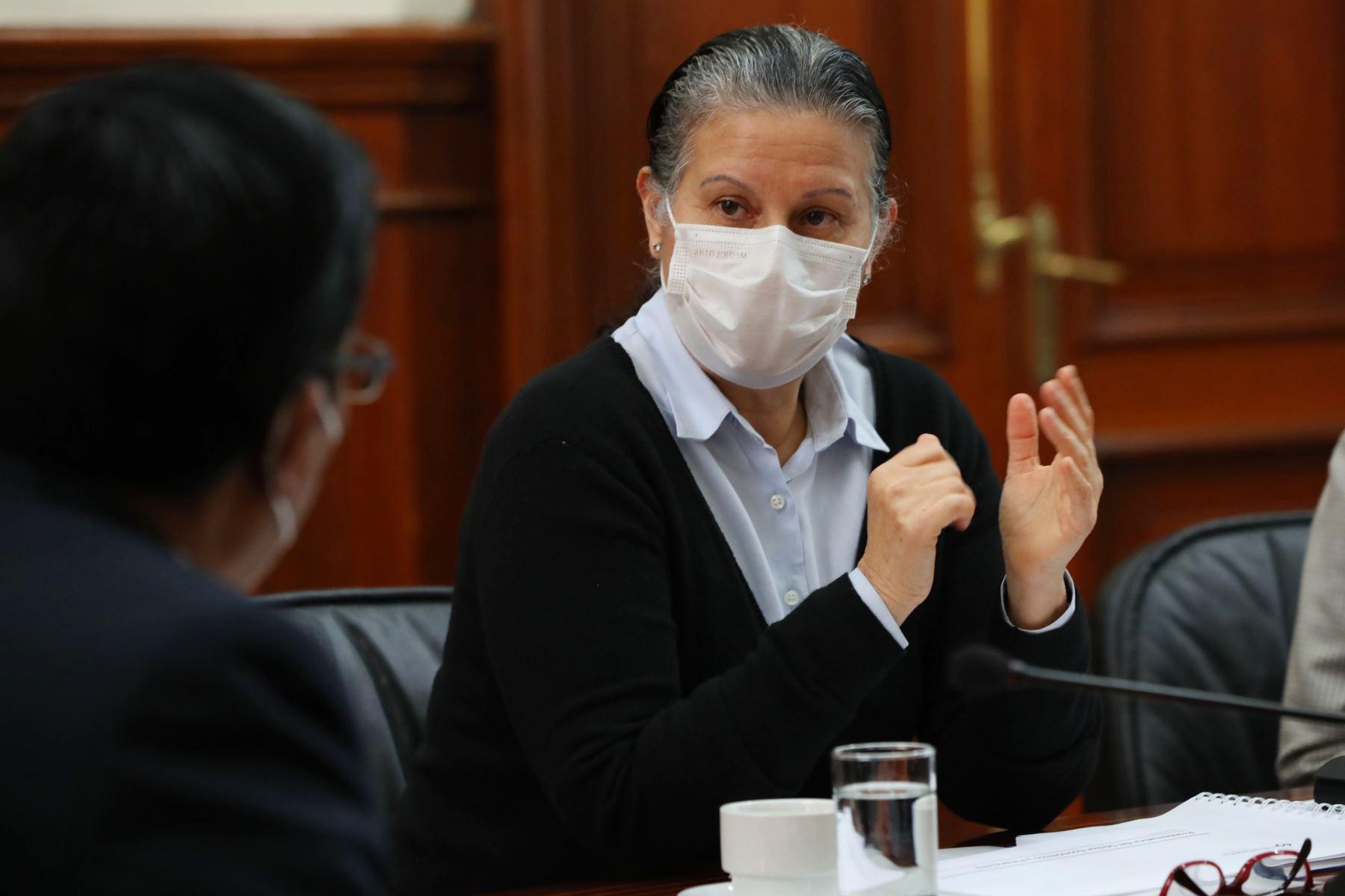 Socorro Heysen, jefa de la Superintendencia de Banca, Seguros y AFP (SBS). Foto: ANDINA/Difusión