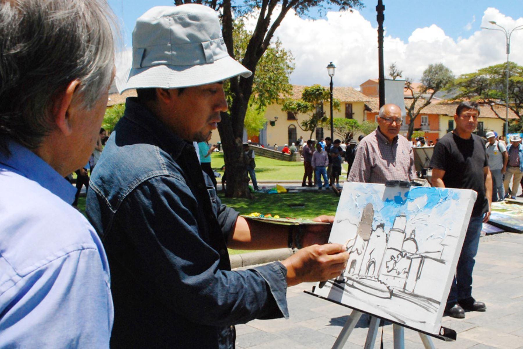 Artistas cajamarquinos plantean propuesta de reactivación económica ante el concejo provincial. Foto: ANDINA/Difusión