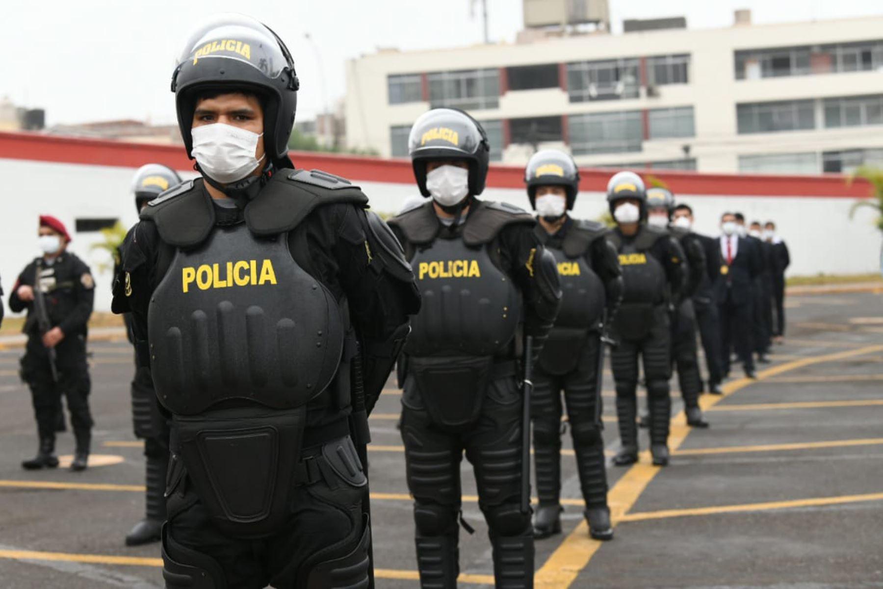 Se hará uso gradual de la fuerza, sostiene teniente general de la Policía. Foto: ANDINA/difusión.
