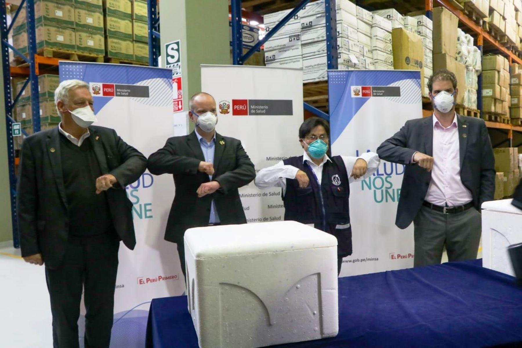Coronavirus: Alemania donó al Perú 100,000 kits de pruebas moleculares. Foto: ANDINA/Difusión.