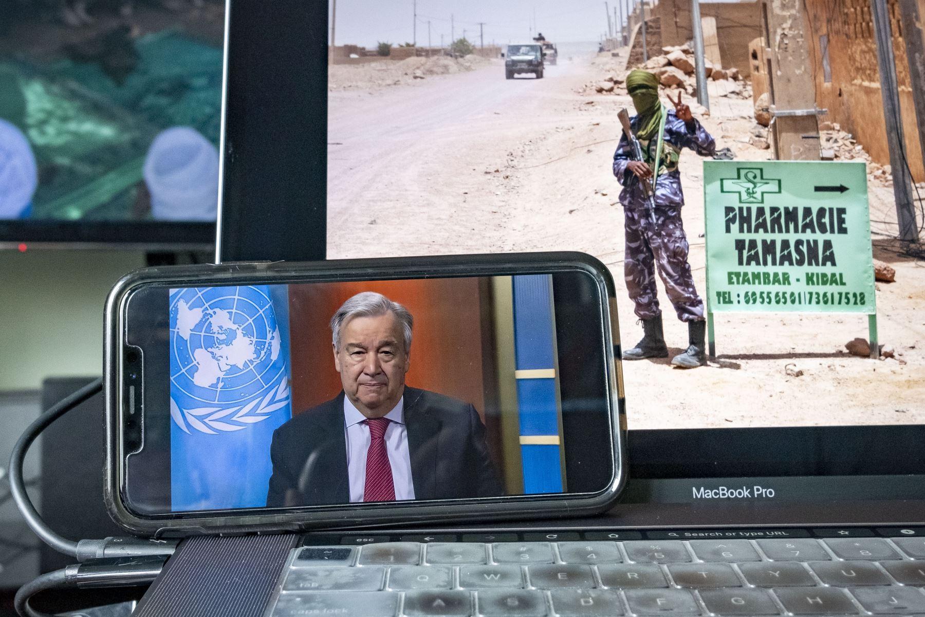 """El jefe de Naciones Unidas reconoció que es imposible predecir lo que va a ocurrir a partir de ahora: """"Estamos en medio de la niebla"""". Foto: AFP"""