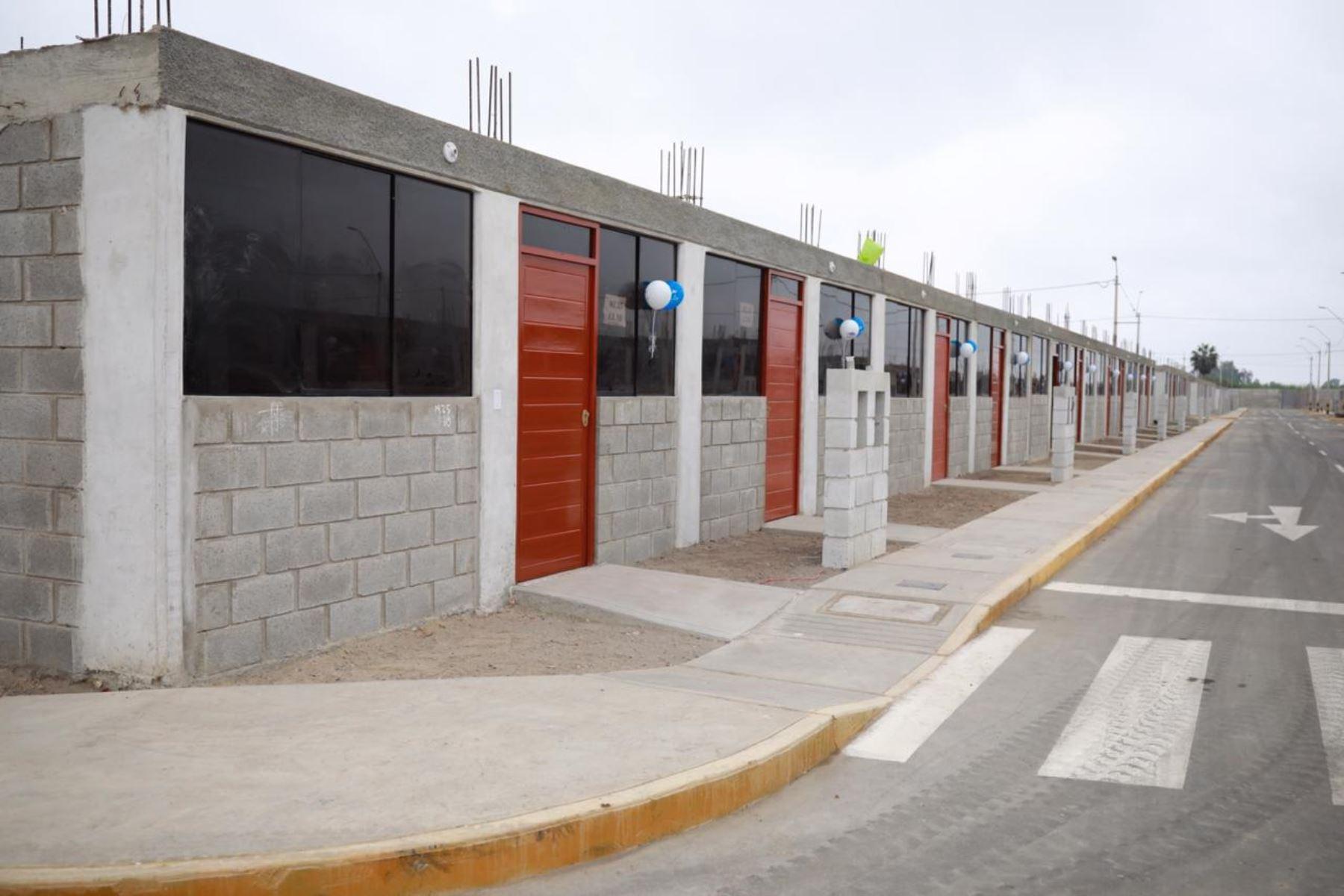 Viviendas sociales. Foto: ANDINA/Difusión