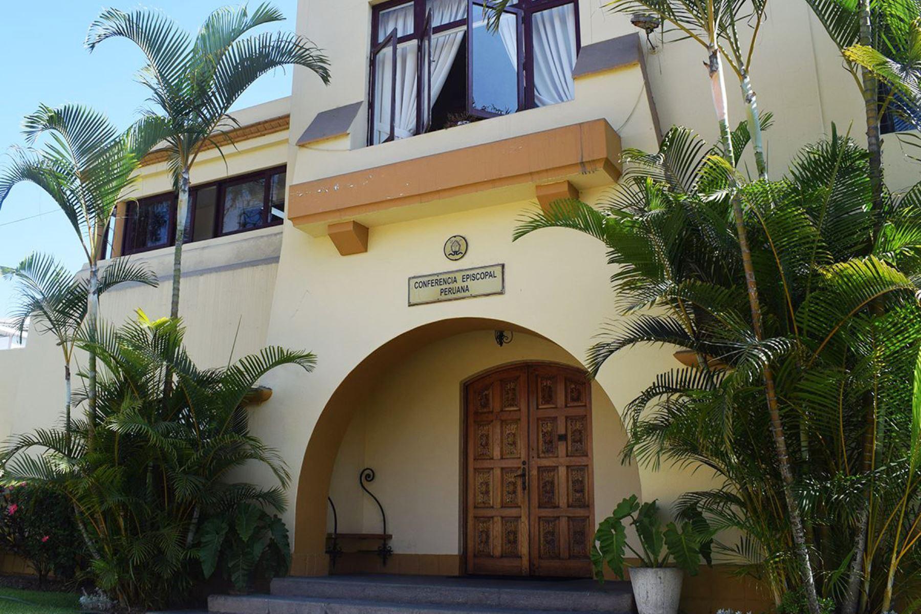 Sede de la Conferencia Episcopal Peruana. ANDINA/Difusión