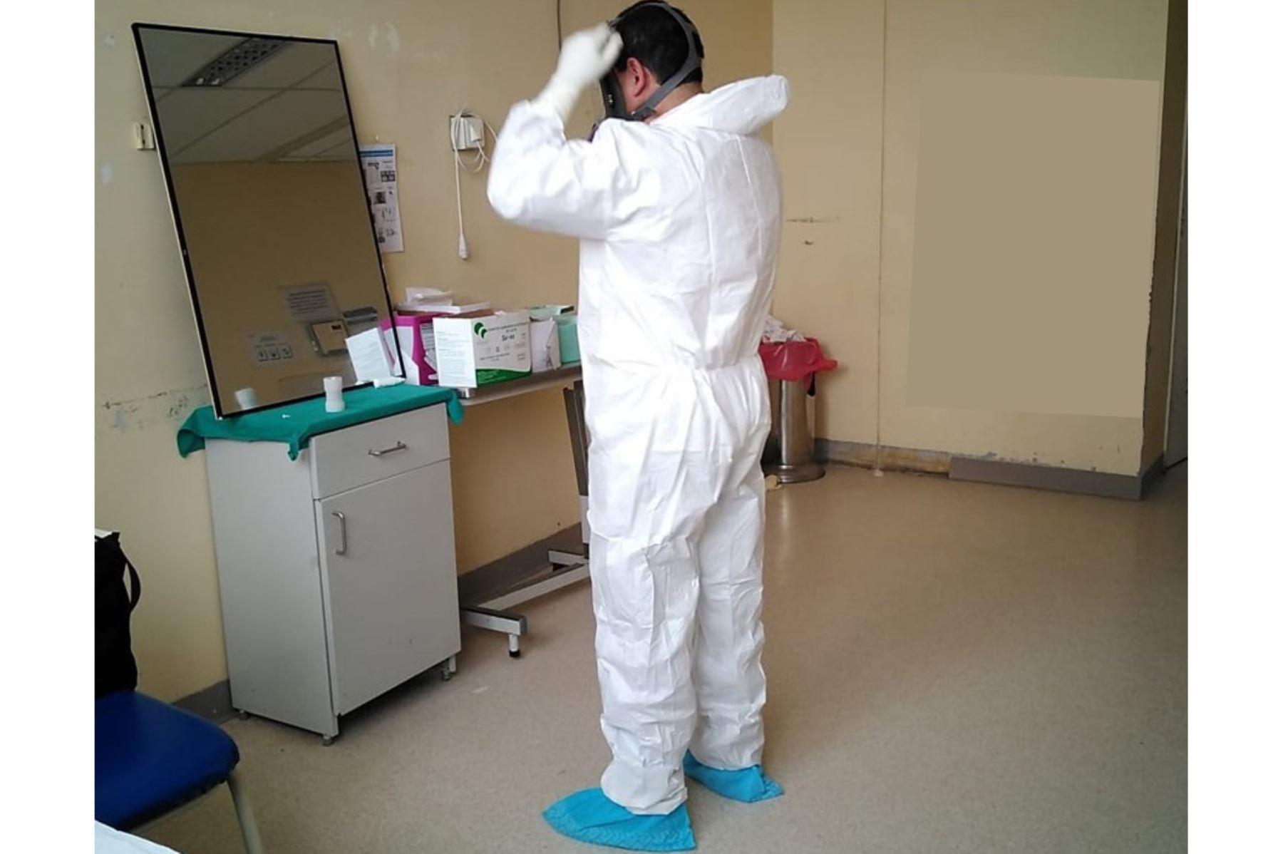 Nuevo lote de equipos de protección personal, pruebas rápidas y medicamentos recibió Lambayeque.Foto: ANDINA/Difusión