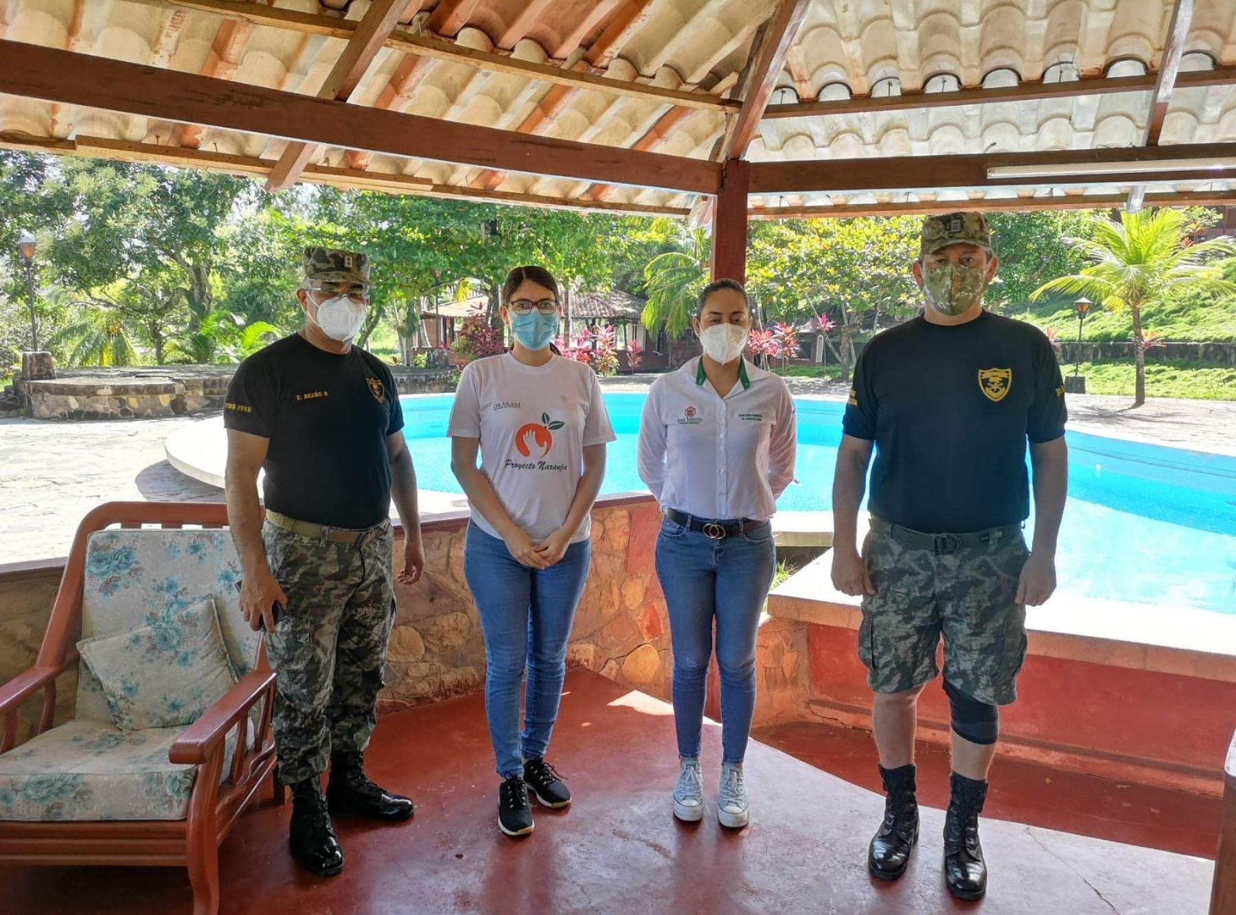 Soldados acompañarán a brigadas de salud que visitan viviendas en la región San Martín en busca de posibles casos de coronavirus.