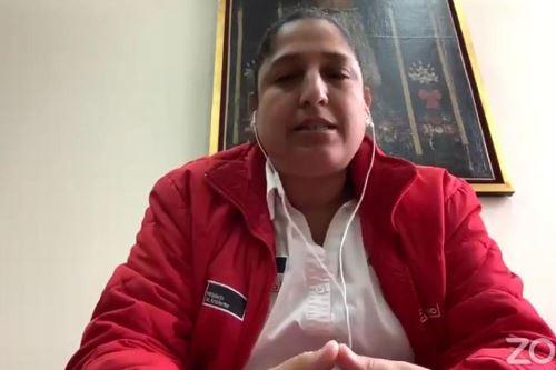 Ministra del Ambiente, Fabiola Muñoz. ANDINA/Difusión