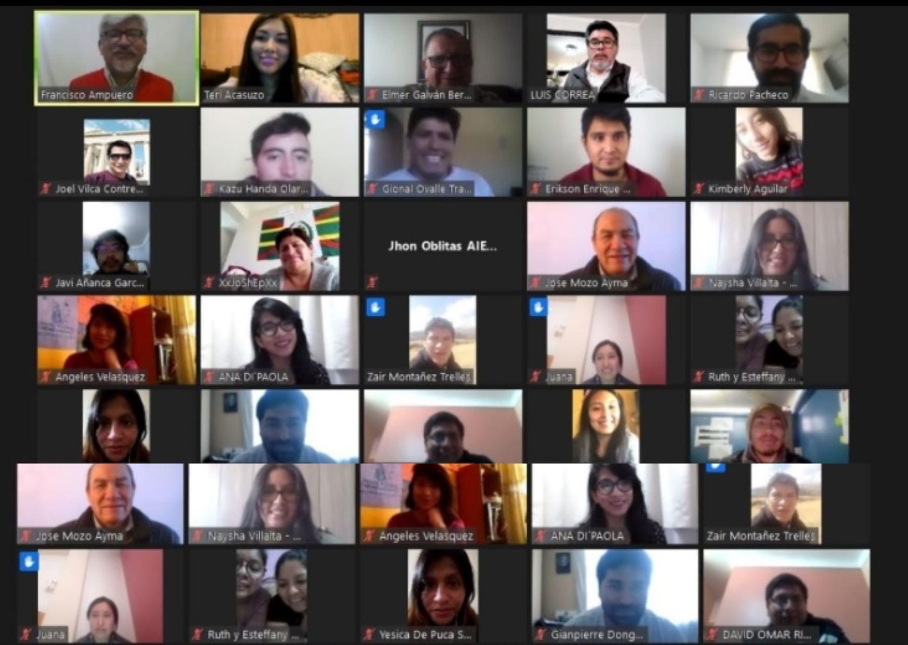 A través de su Dirección de Voluntariado del MIMP, se llevó a cabo la presentación virtual de los resultados del Primer Diagnóstico Situacional de Organizaciones de Voluntariado de Cusco, con el objetivo de visibilizar el aporte del voluntariado al desarrollo regional e impulsar el trabajo articulado a favor de los más vulnerables.