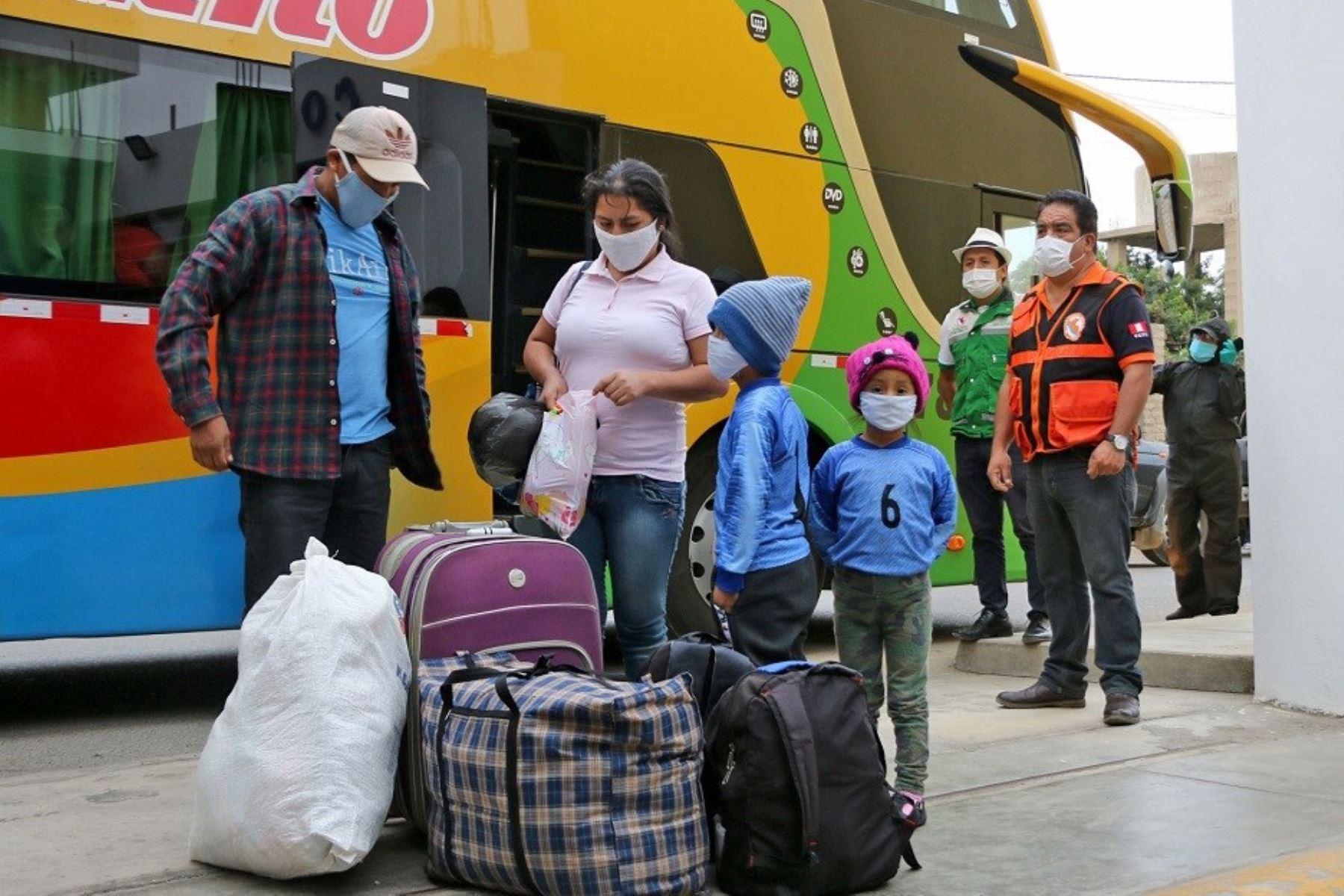 Transporte interprovincial. Foto: ANDINA/difusión.