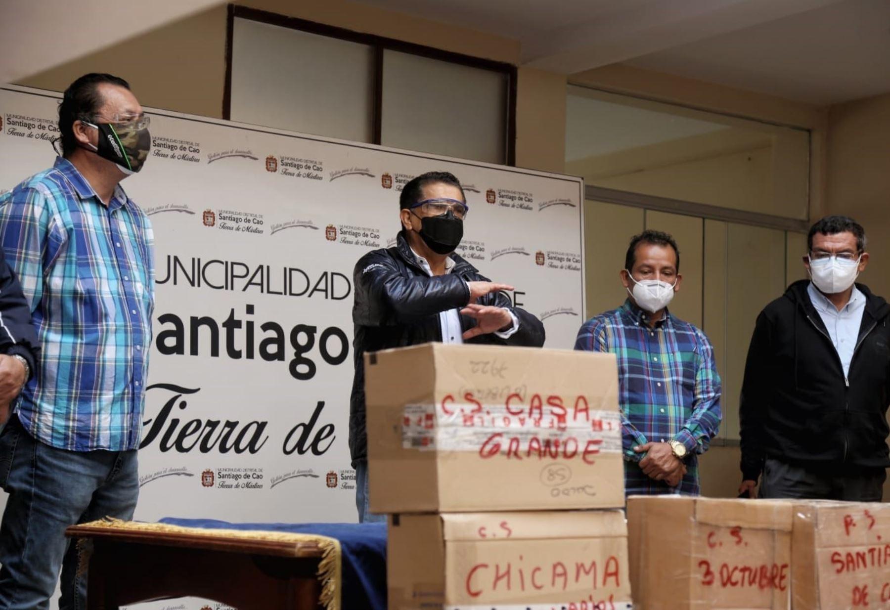 La Libertad habilitará centro temporal de hospitalización covid-19 en Ascope para atender a afectados por esa enfermedad. ANDINA/Difusión
