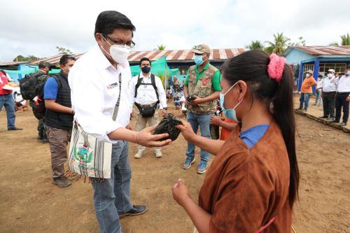 Coronavirus: PCM entregó concentradores de oxígeno al Centro de Salud de Poyeni en el Vraem