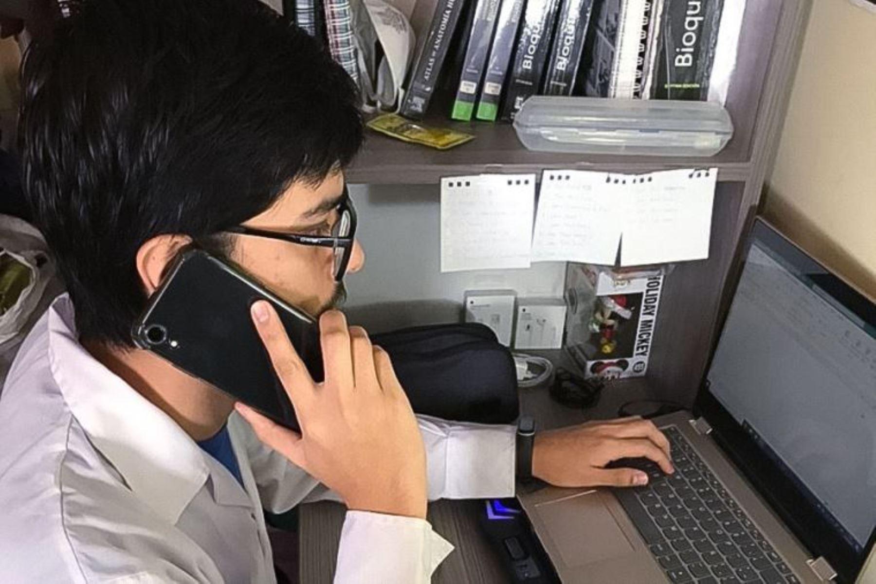 Convocan a estudiantes de últimos años de ciencias de la salud para monitoreo virtual de pacientes covid-19