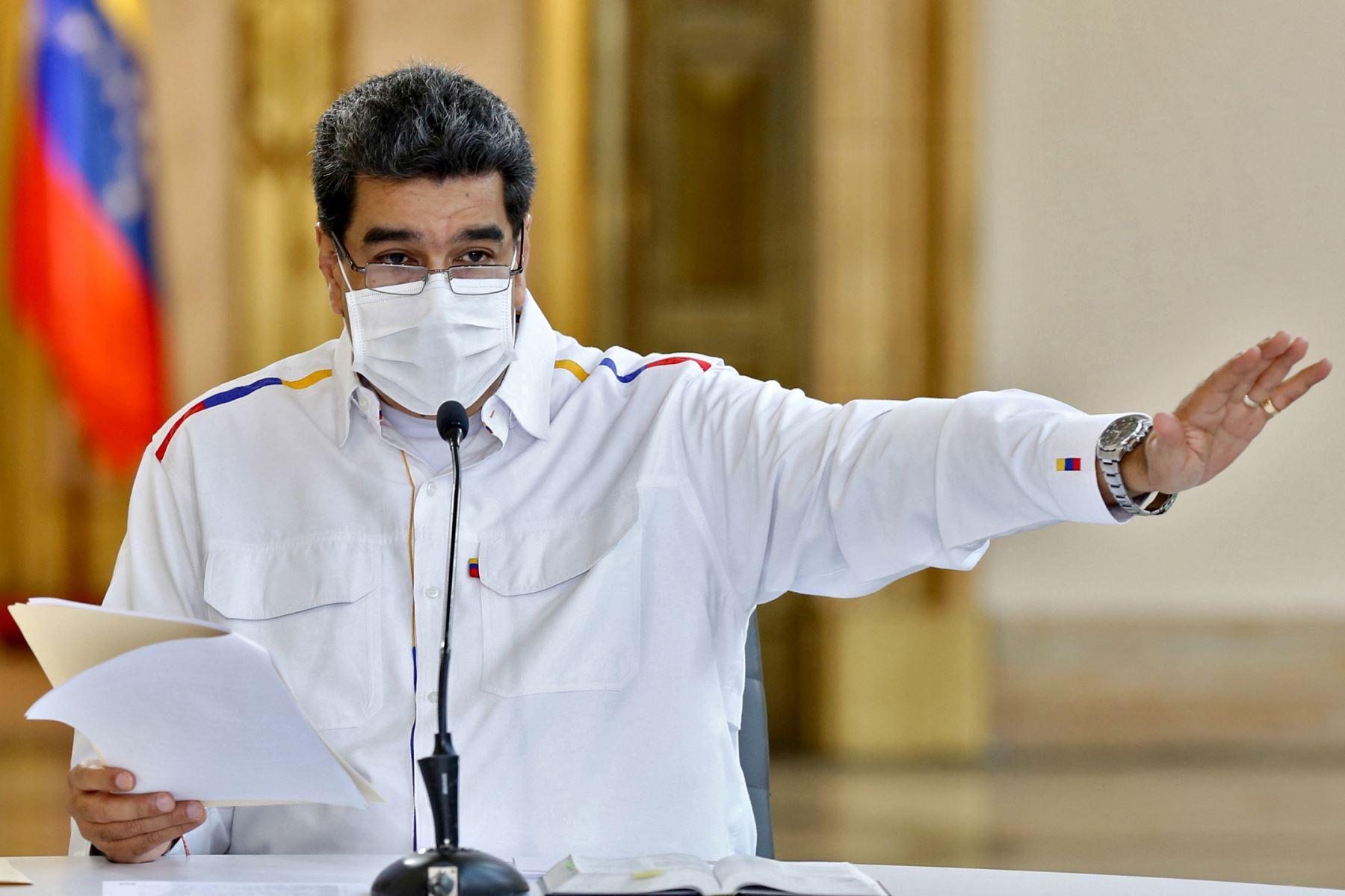 """Maduro acuso a la UE de ponerse de """"rodillas"""" ante el presidente estadounidense, Donald Trump. Foto: AFP"""