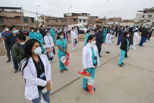 Coronavirus: Operación Tayta en Villa el Salvador