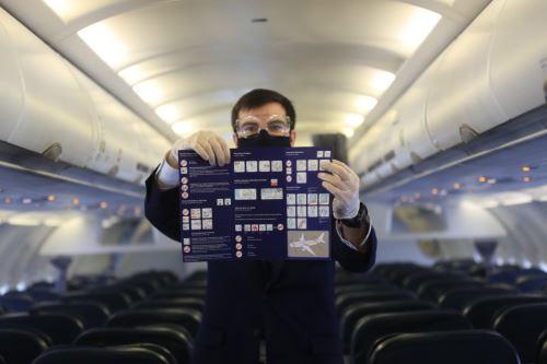 Coronavirus: Aeropuerto Jorge Chávez presenta protocolos de bioseguridad para próximo reinicio de vuelos