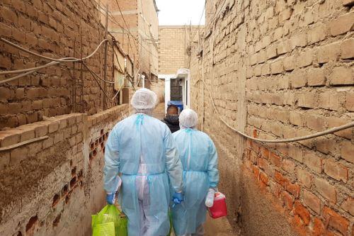 Coronavirus: Equipos de respuesta rápida recorren distritos de Lima y Callao brindando evaluación y diagnóstico contra el covid-19 a más de 5300 ciudadanos