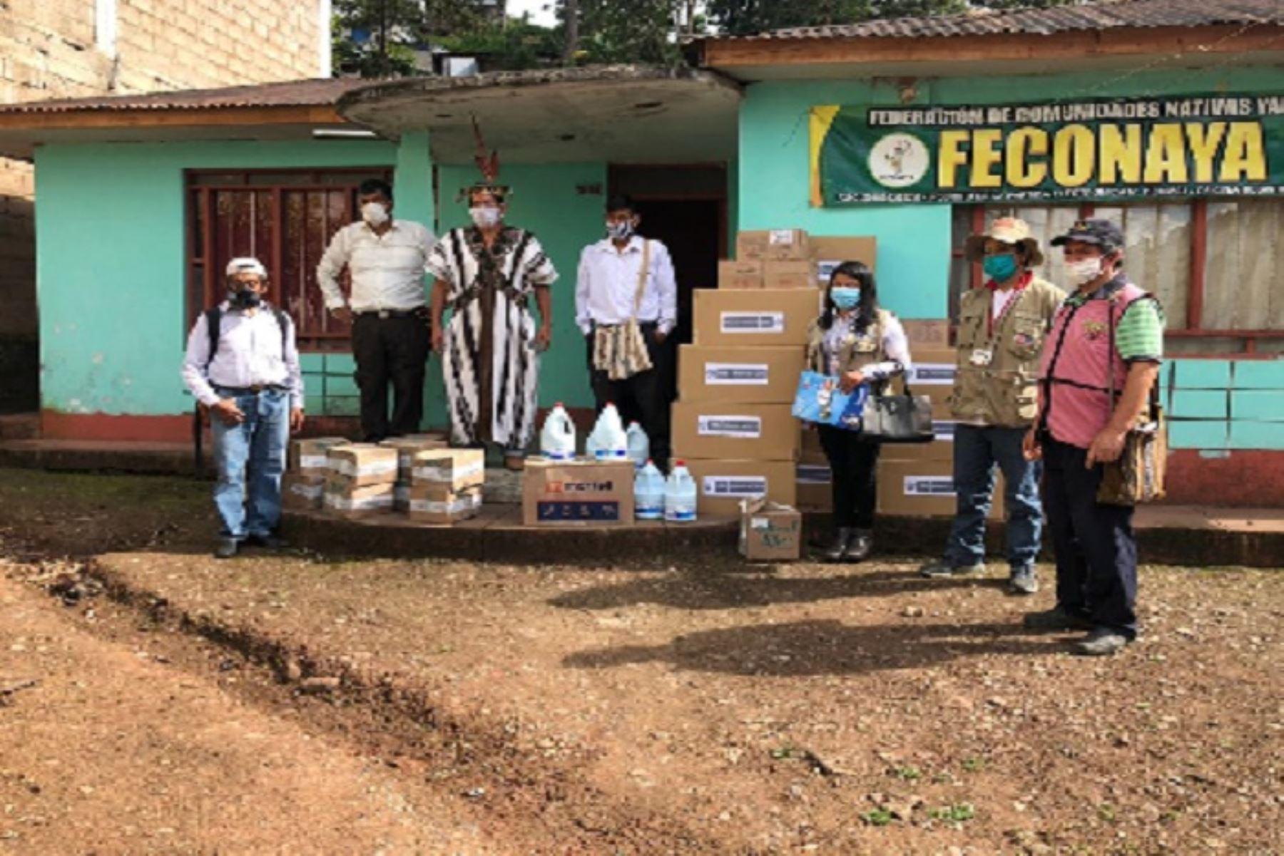 En la región Pasco existen 212 localidades indígenas amazónicas, donde viven 24,484 personas aproximadamente.
