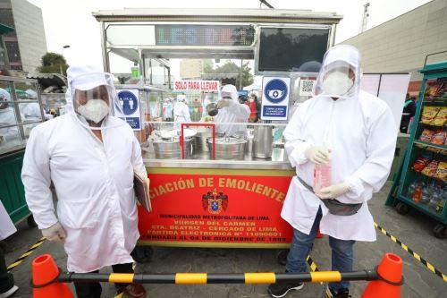 Coronavirus: Ministerio de la Producción y Municipalidad de Lima muestran el protocolo de medidas de bioseguridad de comerciantes autorizados para laborar en la vía pública