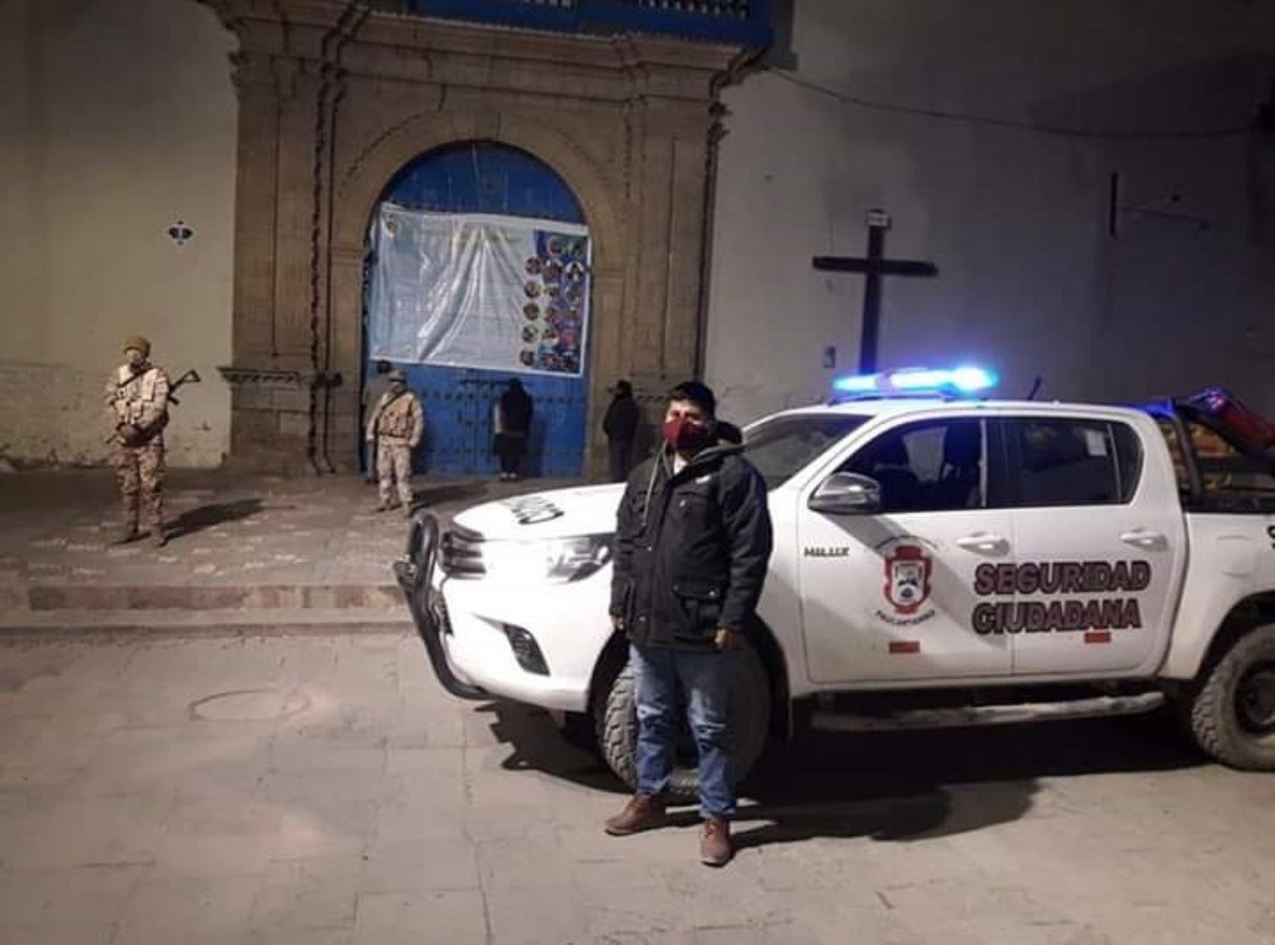 Paucartambo cierra ingresos para evitar arribo de devotos por la tradicional Festividad de la Virgen del Carmen que se celebra entre el 14 al 19 de julio en dicha provincia de Cusco.