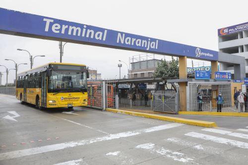 El alcalde de Lima, Jorge Muñoz, anunció esta noche que no se paralizarán las operaciones del Metropolitano. Foto: ANDINA/Difusión