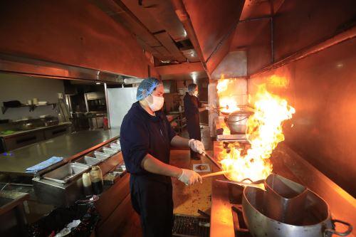 Coronavirus: Restaurantes de Lima reanudan sus actividades económicas cuidando los protocolos sanitarios
