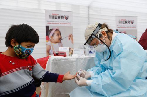 Coronavirus: Ministerio de Salud lleva servicios de atención primaria en salud a pobladores de Ate Vitarte