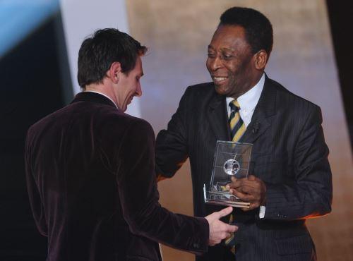 Pelé eligió a Lionel Messi