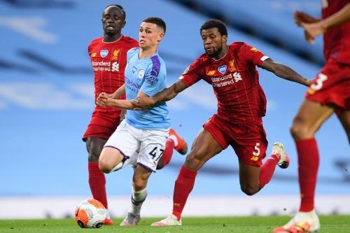 Manchester City goleó 4-0 al Liverpool, vigente campeón de la Premier League
