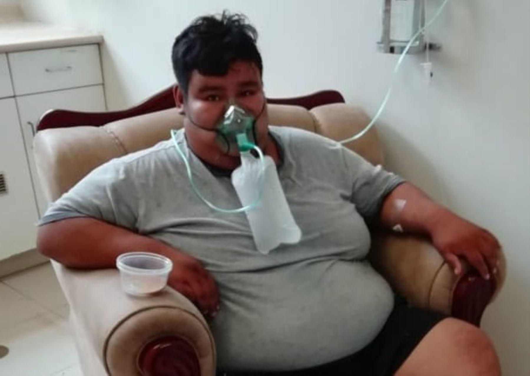 Paciente con obesidad mórbida y diabetes venció al covid-19 en Tumbes y recibió el alta médica, destaca el Ministerio de Salud. Foto: ANDINA/difusión.