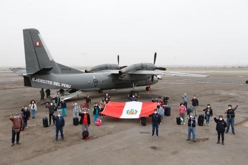 Coronavirus: Equipo de médicos y enfermeras parten a Chiclayo para apoyar acciones contra la pandemia
