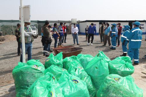 Coronavirus: Ministerio del Ambiente promueve la reactivación del reciclaje en Carabayllo