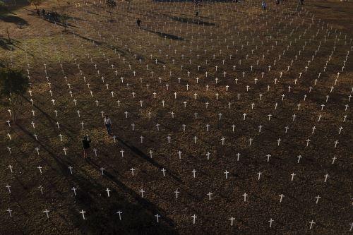 Brasil es el segundo país del mundo con más casos registrados y más muertes causadas por la covid-19, apenas por detrás de Estados Unidos. Foto: AFP