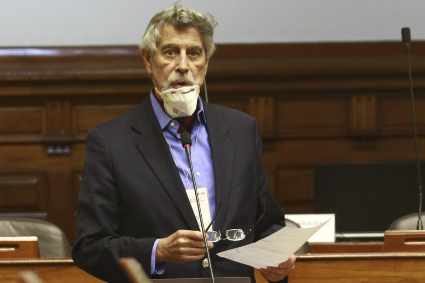 Congresista Francisco Sagasti. ANDINA/Difusión